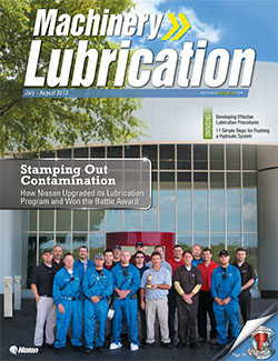 Machinery Lubrication - Cover - 8/2013