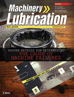 Machinery Lubrication - Cover - 4/2016
