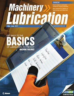 Machinery Lubrication - Cover - 6/2017