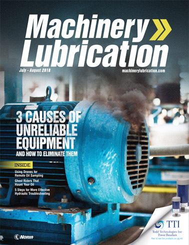 Machinery Lubrication - Cover - 8/2018
