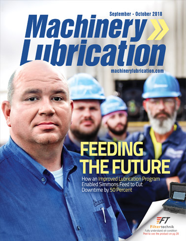 Machinery Lubrication - Cover - 10/2018