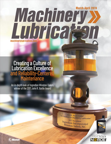 Machinery Lubrication - Cover - 4/2019