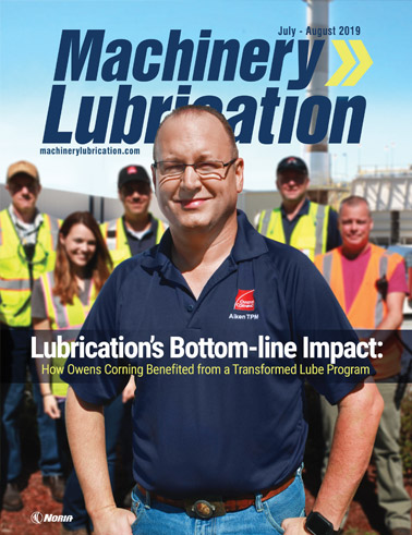 Machinery Lubrication - Cover - 8/2019