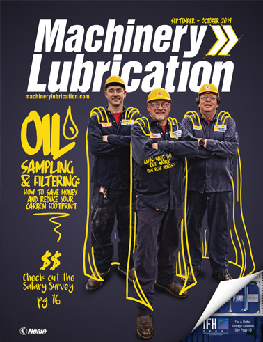 Machinery Lubrication - Cover - 10/2019