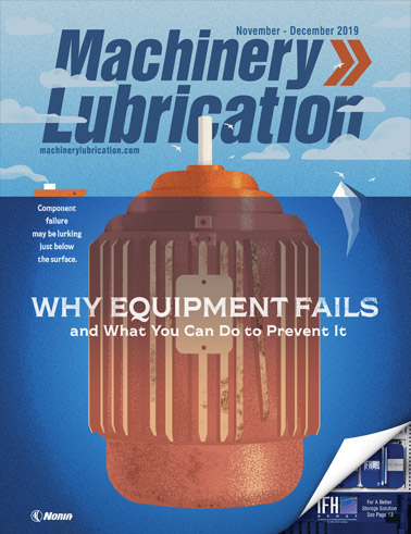 Machinery Lubrication - Cover - 12/2019