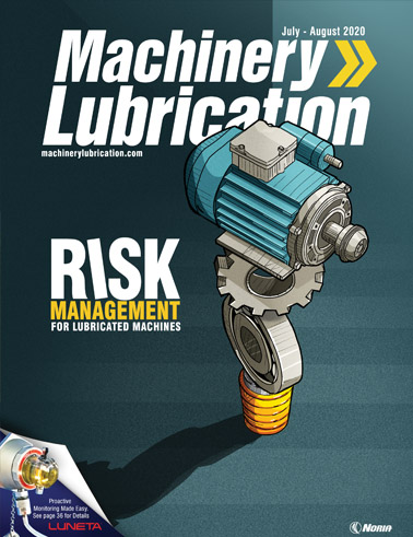 Machinery Lubrication - Cover - 8/2020