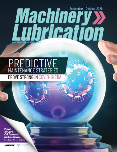 Machinery Lubrication - Cover - 10/2020