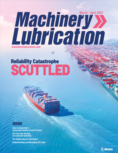 Machinery Lubrication - Cover - 4/2021