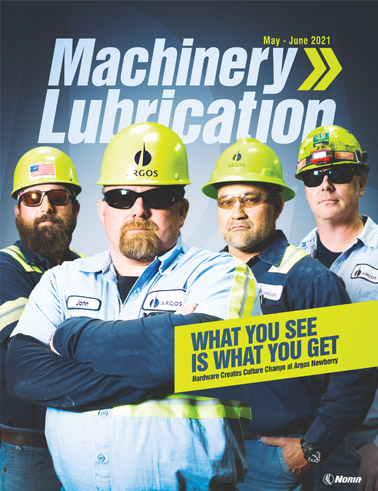 Machinery Lubrication - Cover - 6/2021