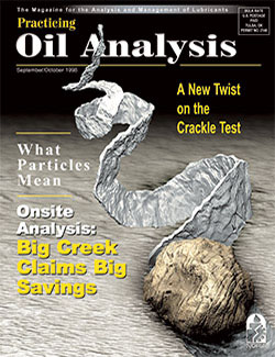 Practicing Oil Analysis - Cover - 9/1998