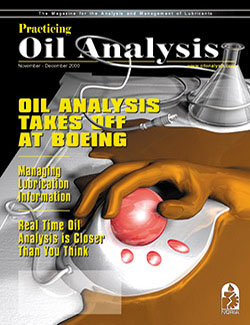Practicing Oil Analysis - Cover - 11/2000