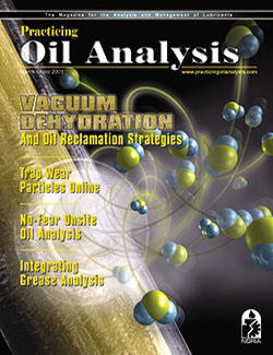 Practicing Oil Analysis - Cover - 3/2001