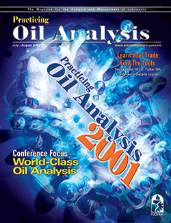 Practicing Oil Analysis - Cover - 7/2001