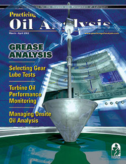 Practicing Oil Analysis - Cover - 3/2002