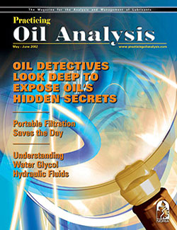 Practicing Oil Analysis - Cover - 5/2002