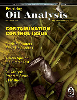 Practicing Oil Analysis - Cover - 7/2002