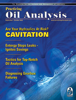 Practicing Oil Analysis - Cover - 9/2002