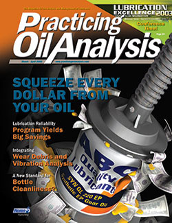 Practicing Oil Analysis - Cover - 3/2003