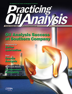 Practicing Oil Analysis - Cover - 11/2004