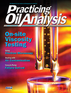 Practicing Oil Analysis - Cover - 1/2005