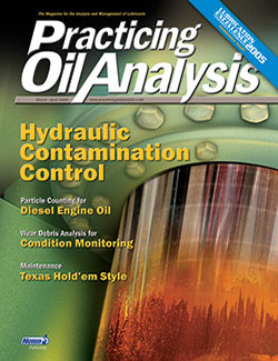 Practicing Oil Analysis - Cover - 3/2005