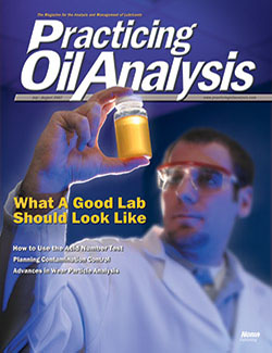 Practicing Oil Analysis - Cover - 7/2007
