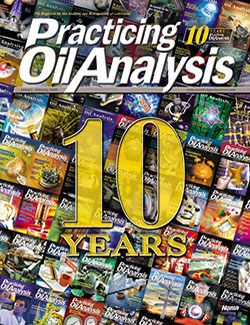 Practicing Oil Analysis - Cover - 1/2008