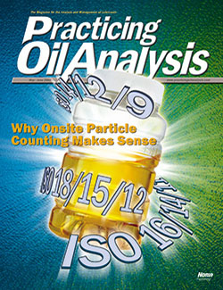 Practicing Oil Analysis - Cover - 5/2008