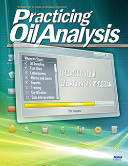 Practicing Oil Analysis - Cover - 7/2008