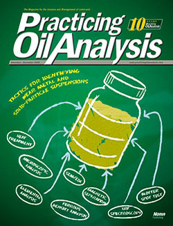 Practicing Oil Analysis - Cover - 11/2008