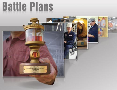 Battle Plans: INVISTA's Documented Path to Lubrication Excellence